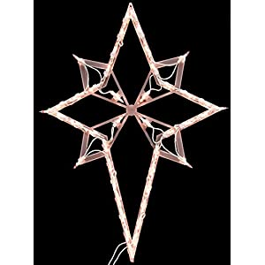 Outdoor Lighted Christmas Star