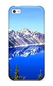 4453097K48737947 High Impact Dirt/shock Proof Case Cover For Iphone 6 (4.5) (crater Lake Oregon)
