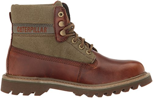 Caterpillar Uomo Saga Canvas Fashion Sneaker Marrone Zucchero / Oliva