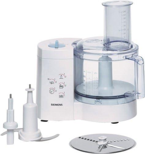 Siemens MK20000, Blanco, 2550 g, 300 mm, 305 mm, 210 mm, 450 W - Robot de cocina: Amazon.es: Hogar