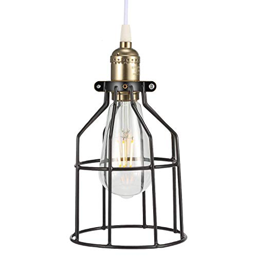 Kohree Metal Bulb Guard Lamp Cage, For Pendant Light, Lamp