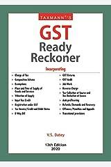 Taxmann's GST Ready Reckoner (13th Edition 2020) Kindle Edition