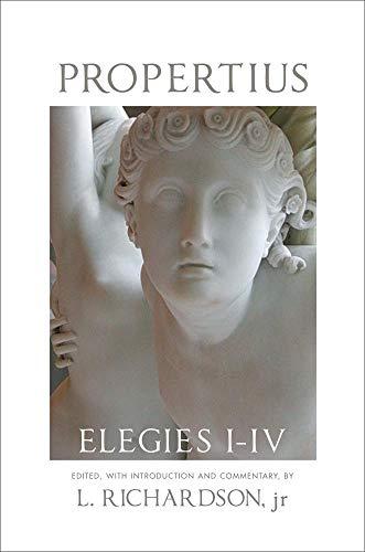 Propertius: Elegies I-IV (American Philological...