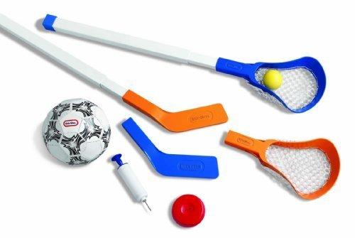 Easy Score Soccer Set - Little Tikes Easy Score Soccer, Hockey and Lacrosse Set by Little Tikes
