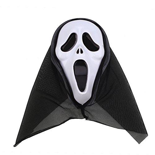 KICODE TOPmountain Halloween Horror Scary Costume Bloody Face