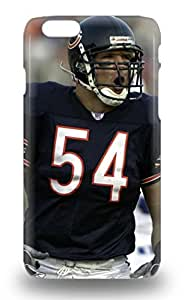 Perfect Fit NFL Chicago Bears Brian Urlacher #54 Case For Iphone 6 ( Custom Picture iPhone 6, iPhone 6 PLUS, iPhone 5, iPhone 5S, iPhone 5C, iPhone 4, iPhone 4S,Galaxy S6,Galaxy S5,Galaxy S4,Galaxy S3,Note 3,iPad Mini-Mini 2,iPad Air )
