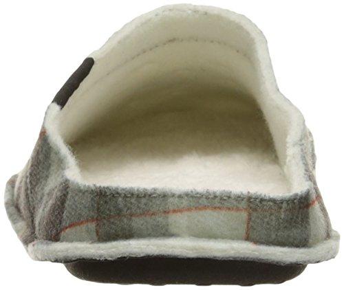 crocs Schuhe - Classic Plaid Slipper - Black Oatmeal Schwarz/Hellbeige