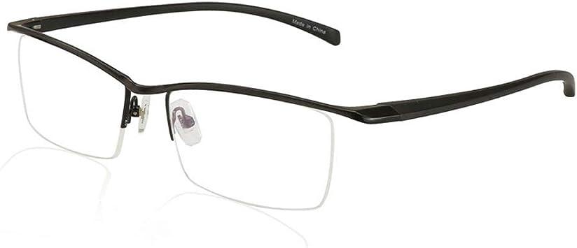 Cadre en métal de force de myopie optique de verres de lecture photochromiques de transition avec des lunettes de soleil UV400 de cas