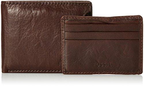 Fossil Mens Ingram Sliding 2-In-1 Wallet