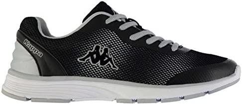 Kappa Feller Zapatillas de Running para Mujer Negro/Plata Trainers Zapatillas de Deporte para, Negro/Plata: Amazon.es: Deportes y aire libre