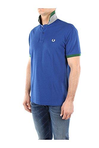 30102284V0037 Fred Perry Polo Hombre Algodón Azul Blu