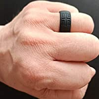 Silicone Wedding Bands YesFit Silicone Wedding Ring for Men 1 Pack// 4 Pack