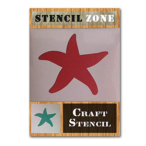 (Star Fish Sea Animal Creature Mylar Airbrush Painting Wall Art Crafts Stencil 2-L)