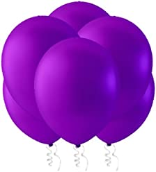 "Creative Balloons 12"" Latex Balloons - Pack of 144 Piece - Decorator Deep Purple"