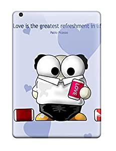 Ipad Air Case Bumper Tpu Skin Cover For Altools Valentines Quotes Estsoft Love Hearts Romantic Vday Red February Lovers Holiday Valentines Day Accessories