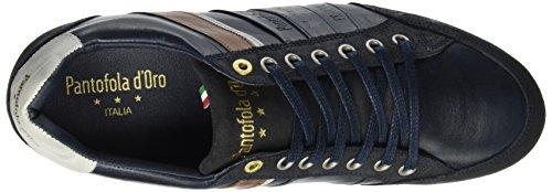 Baskets Uomo d'Oro Dress Homme Allassio EU 44 Low Pantofola Bleu Marron Blues wxa6Ow