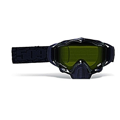 509 Sinister X5 Snow Goggles - White Out - Polarized Yellow Maxvent Lens by 509
