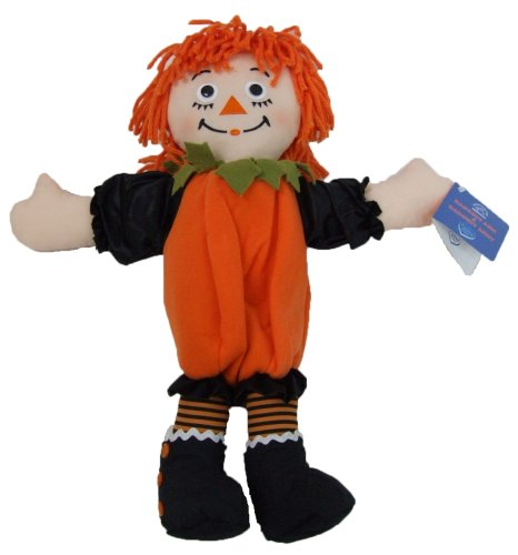LARGE Raggedy Ann in Pumpkin Suit Dressed for Halloween Trick or Treat so Adorable (How Halloween Began)