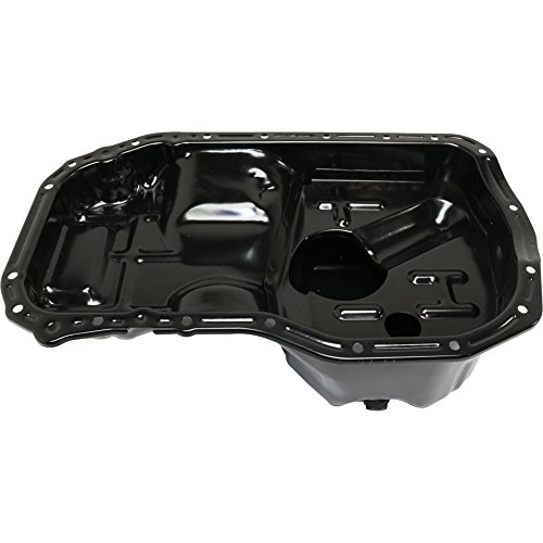 Oil Pan for Mitsubishi Galant 99-03 Eclipse 00-05 4 Cyl 2.4L Steel 18 in. Length 5.25 in. Depth 4.5 Qts.