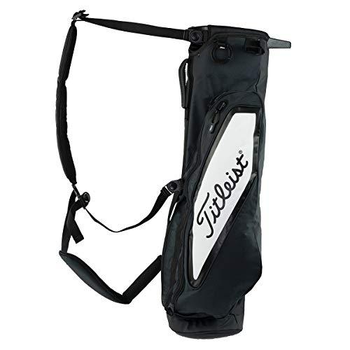 - Titleist Premium Golf Carry Bag Black/White