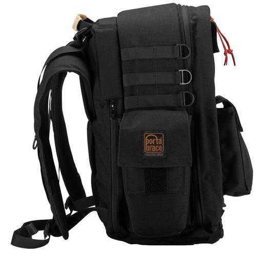 PortaBrace RIG-FS7BKX RIG Rucksack Backpack, Expandable Height - Sony FS7, Black, Large Bags
