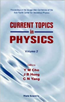 Current Research Topics in Physics