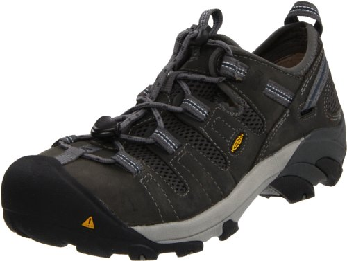 KEEN Utility Men's Atlanta Cool ESD Steel Toe Work Shoe,Gargoyle,10.5 D US