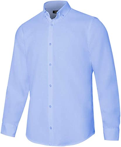 VELILLA - Camisa Oxford Stretch Manga Larga 405004S Hombre ...