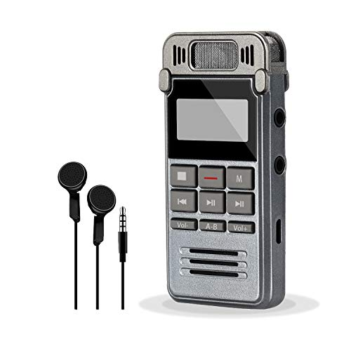 ieGeek Digital Voice Recorder, Portable ...