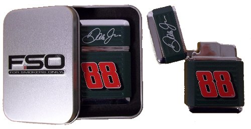 JRM04 Green Grip 88 Dale Earnhardt Jr Lighter