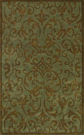 Oriental Weavers 250059 Utopia 84113 Blue/Brown Floral Area Rug (3'6