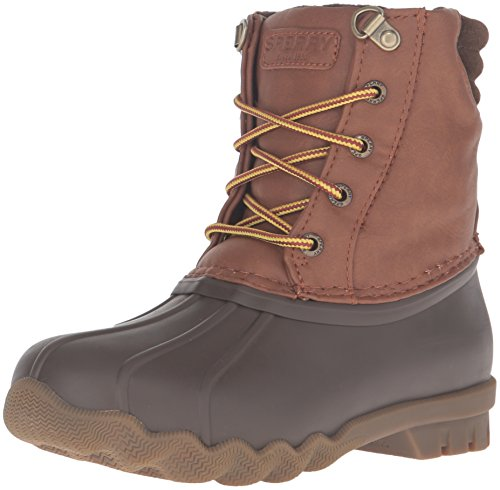 Sperry Avenue Duck Boot , Brown/Tan, 3 M US Little Kid
