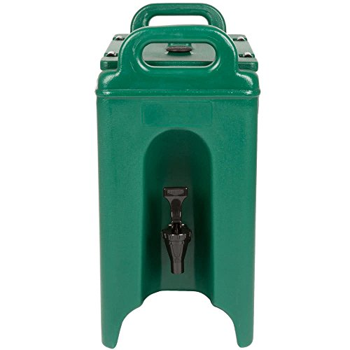 TableTop King 250LCD519 Camtainer 2.5 Gallon Green Insulated Beverage ()