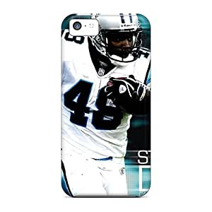 High Grade Maria N Young Flexible Tpu Case For Iphone 5c - Stephen Davis Nfl Player Of Carolina Panthers by Maris's Diary