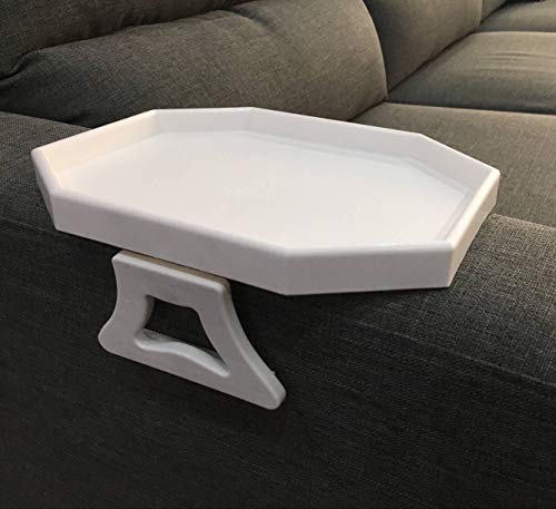 Drinks/remote Control/snacks Holder Fashionable Patterns Armrest Tray Table Sofa Arm Clip Table