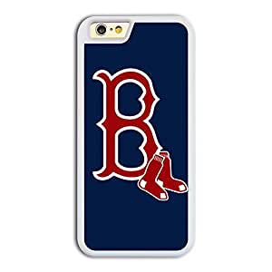 MLB American League Boston Red Sox team logo 1 TPU iPhone 6 case protective skin cover