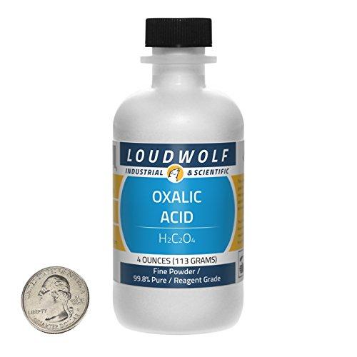 Oxalic Acid/Fine Powder / 4 Ounces