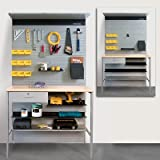 Uniweb-Grid Iron Panel System Assortment Storage Kit 400