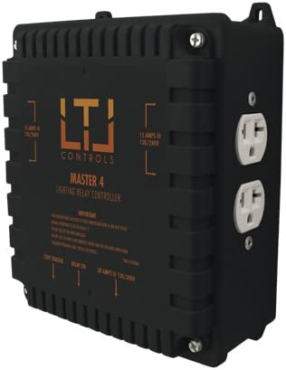 without LTL MASTER4 Four lighting relay controls