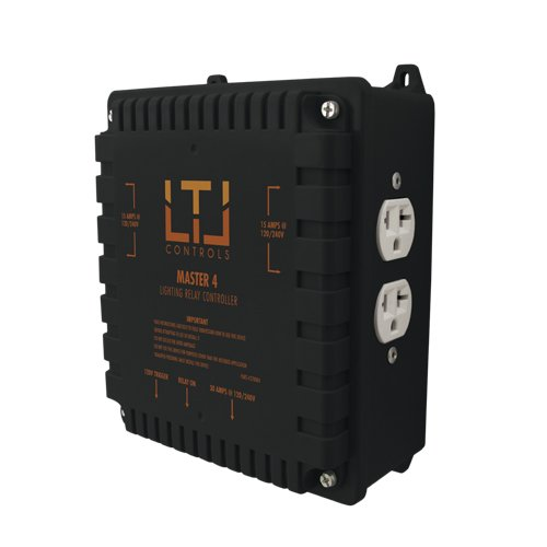 LTL MASTER4 Four lighting relay controls, without