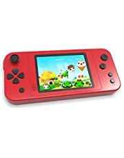 """Beico Handheld Games for Kids Built in 218 Classic Retro Video Games 3.5"""" Screen Portable Arcade Gaming Player System Boys Girls Birthday Gift (China Red)"""