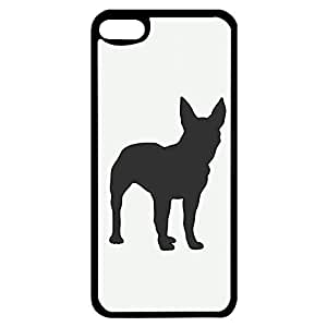 Simple Back Design French Bulldog Phone Case Cover for Ipod Touch 6th Generation Pet Dog Lovely Design