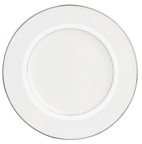 Lenox Tribeca Platinum Banded Bone China 9 Accent Plate