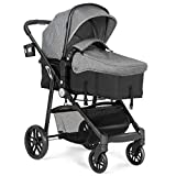 Best Baby Strollers - BABY JOY Baby Stroller, 2 in 1 Convertible Review