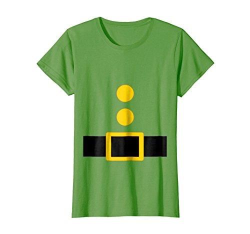 Womens Dwarf Costume T-Shirt Funny Halloween Gift Medium Grass -