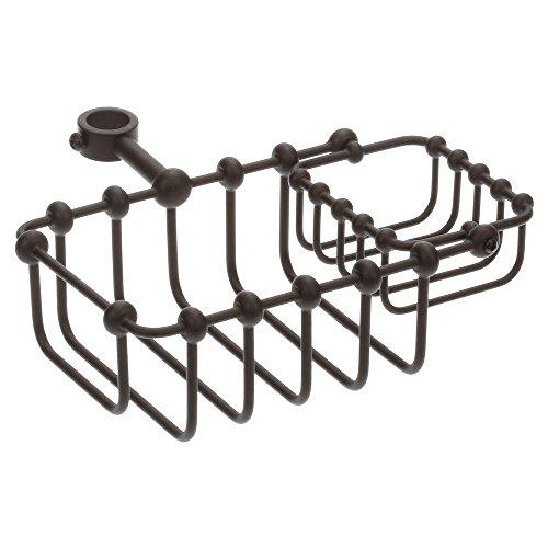 Elizabethan Classics ECTSD5ORB Riser Mount Soap Basket, Oil Rubbed Bronze (Riser Mount Soap Dish)
