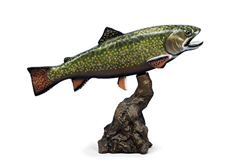 "Land & Sea Taxidermy Quality Brook Trout Statue 18"" from Land & Sea"