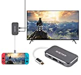 ACMETHINK Replacement Dock for Nintendo Switch, HDMI Type C Hub Adapter for Nintendo Switch, USB C to HDMI Adapter for MacBook