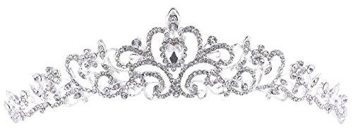 Rhinestone Tiara Crown Wedding Bridal Pageant Princess Headband