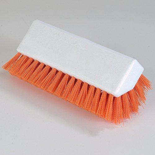 Carlisle 4042324 Hi-Lo Floor Scrub Brush, Orange (Pack of 12) by Carlisle (Image #7)